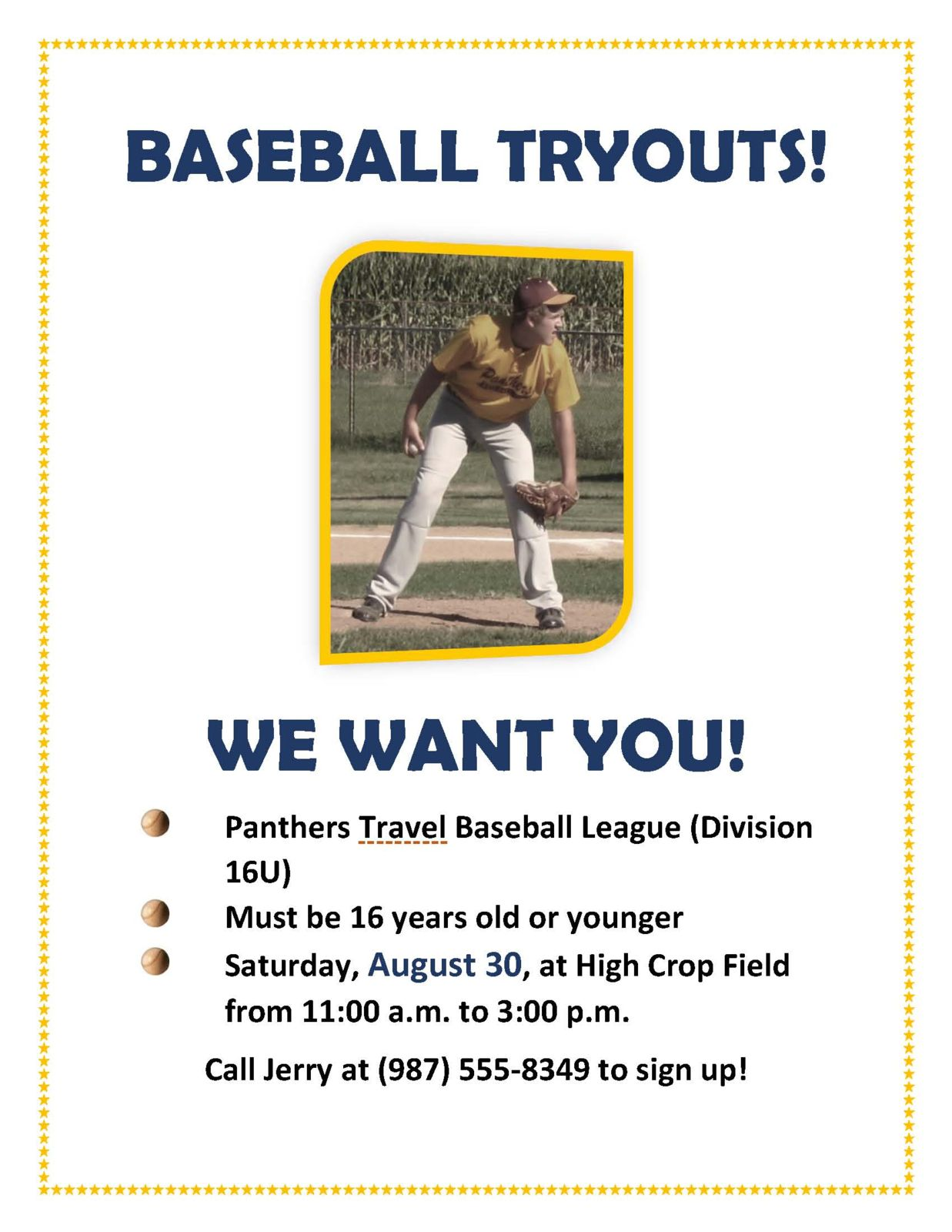 baseball tryout flyer ecza productoseb co